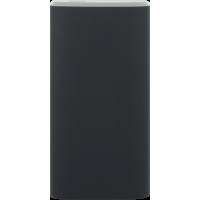 Batterie de secours noire 5000 mAh avec câble USB/micro USB