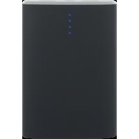 Batterie de secours noire 7500 mAh avec câble USB/micro USB