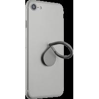 Anneau rotatif gris en forme de goutte d`eau pour smartphone
