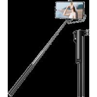Mini perche télescopique avec déclencheur photo