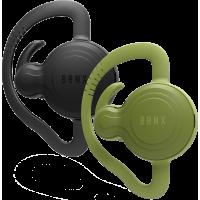 Oreillettes Bluetooth noires et vertes Bonx