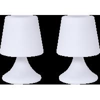 Duo de lampes enceintes inter-connectées outdoor Handy S Together Colorblock