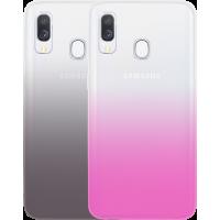 Pack de 2 coques semi-rigides Colorblock pour Samsung Galaxy A40 A405
