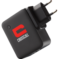 Chargeur secteur à réserve d`énergie Crosscall noir