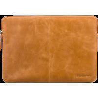 Pochette en cuir marron Skagen Dbramante1928 pour MacBook 13 pouces