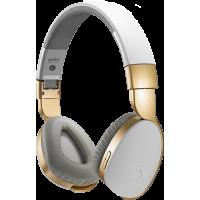 Casque Bluetooth Addict Blanc et or de Divacore