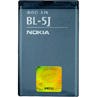 Batterie Nokia BL-5J pour 5800, C3, X6 et autres mobiles Nokia