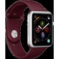 Bracelet en silicone ICON par Puro pour Apple Watch Series 4 (42-44mm)