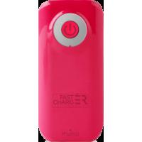 Batterie de secours charge rapide rose Puro