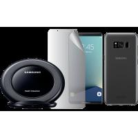 Pack de charge et de protection noir Samsung pour Galaxy S8 + G955