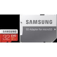 Carte micro SD Evo Plus Samsung 32 Go avec adaptateur SD