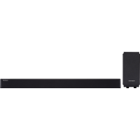 Barre de son noire avec caisson de basses filaire SB200BT
