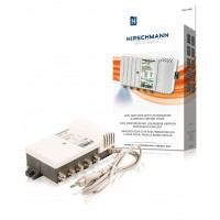 Amplificateur tv avec indication led 4 voies prévu pour la bande retour doté de quatre sorties actives pour le retour
