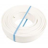 Koka 9 ts câble coaxiale pour à l'interieur (blanc) – 20m
