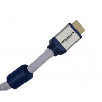 Hdmi high speed avec ethernet – 1.8 m câble convient pour la resolution 4096 x 2160 (ultra hd) et audio retour