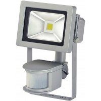 Projecteur LED COB 10W + PIR IP44