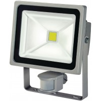 Projecteur LED COB 30W + PIR IP44