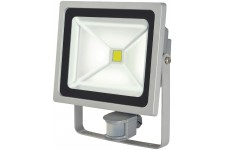 Projecteur LED COB 50W+ PIR IP44