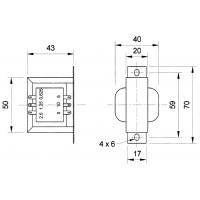 Transformateur 100 V