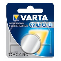 CR2450 pile au lithium 3V 560mAh 1-blister