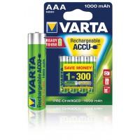Batterie NiMH AAA/LR03 1.2 V 1000 mAh R2U 4-blister