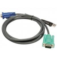 KVM cable VGA + USB 1.80 m