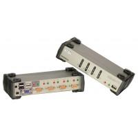 4 ports USB 2.0 commutateur de KVMP avec OSD