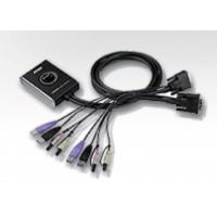 2 port du commutateur KVM USB avec audio