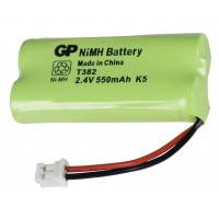 Cordless phone battery NiMH 2.4 V 550 mAh