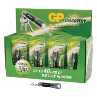 Présentoir de torches à LED en aluminium (12 pièces)