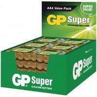 Piles alcalines AAA/LR03 1.5 V Super présentoir 48x4pcs/carton