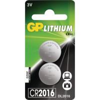 Pile bouton Lithium CR2016 2-BLIS