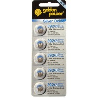 Batterie pour montre 1.55 V 34 mAh 5-blister