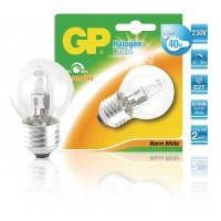 Ampoule halogène mini-globe à économie d'énergie E27 28 W