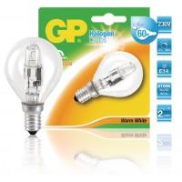 Ampoule halogène mini-globe à économie d'énergie E14 42 W