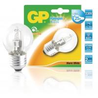 Ampoule halogène mini-globe à économie d'énergie E27 20 W
