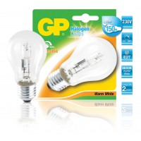 Ampoule halogène classique A60 à économie d'énergie E27 116 W