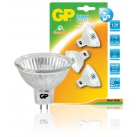 Ampoule halogène à réflecteur MR16 à économie d'énergie multipack GU5.3 35 W