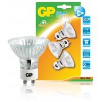 Ampoule halogène torsadée à réflecteur à économie d'énergie multipack GU10 25 W