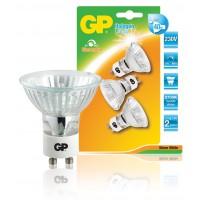 Ampoule halogène torsadée à réflecteur à économie d'énergie multipack GU10 35 W