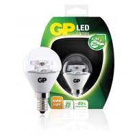 Ampoule à diode mini-globe claire E14 4 W