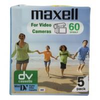 Mini DV cassette 60 minutes 5-pack