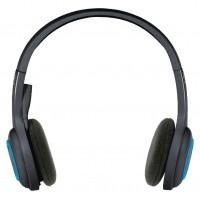Casque sans fil H600 noir/ bleu