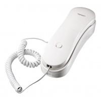Téléphone blanc par cable