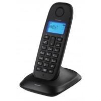 Dect-téphone sans fil noir