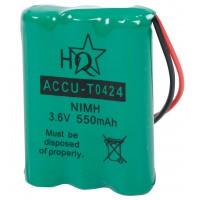 Accu téléphone sans fil NiMH 3.6 V 550 mAh