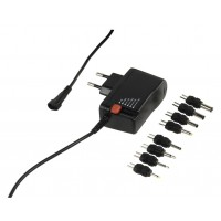 commutation d'alimentation électrique universelle 230 - 3 / 12 V + 8 plugs