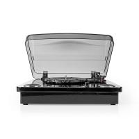 Platine   18 W   Bluetooth®   Conversion USB   Couvercle anti-poussière   Noir