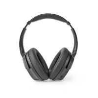 Casque Bluetooth Arceau | 24 Heures D'Autonomie | Fonction Antibruit 25 dB | Charge Rapide | Noir