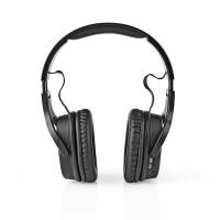 Casque d'écoute sans fil   DAB+ / FM / Bluetooth®   Arceau   Pliable   Étui de transport   Noir
